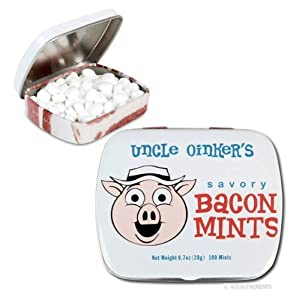 Accoutrements Food Uncle Oinkers Savory Bacon Mints Novelty
