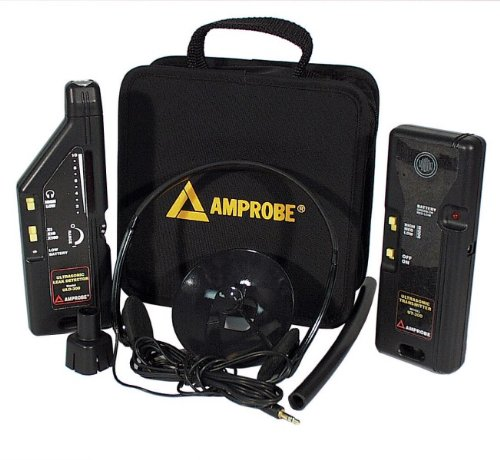 Ultrasonic Leak Detector Kit with Ultrasonic Transmitter TMULD-300 - Amprobe - AM-TMULD-300 - ISBN: B002OOWKRG - ISBN-13: 0095969366649