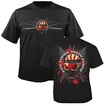 FIVE FINGER DEATH PUNCH - Samurai - T-Shirt Größe XL