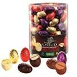 30 x Assorted Mini Eggs STEVIA No Sugar Added Free CAVALIER Chocolates 13g Each