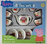 Peppa Pig Ceramic 13 Piece Small Tea Set Toy