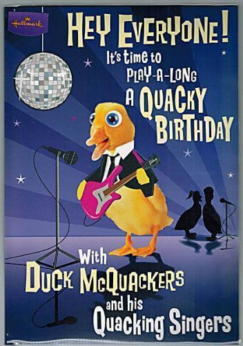 hallmark-music-card-hey-everyone-its-time-to-play-a-long-a-quacky-birthday-birthday-card-22x15cm-gre