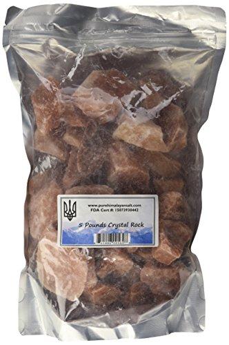 Pure Himalayan Salt Rocks 2-4 inches 5 Pounds