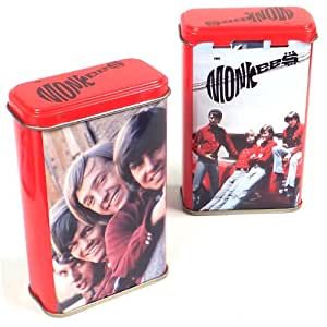 "Monkees Collectors Memorabilia: Rare 1998 Vandor Photo ""Band-Aid"" Tin & Book"