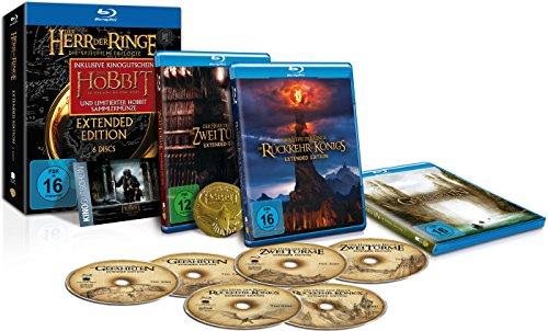 Der Herr der Ringe - Die Spielfilm Trilogie (Extended Edition) inkl. Kinogutschein und Sammlerm�nze [Blu-ray] [Limited Edition]