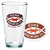 ハワイお土産 | コナビール グラス&コースターセット 【153637】