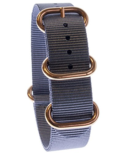 yves-camani-uni-radisson-montres-de-20-mm-de-bracelet-de-lotan-en-nylon-avec-bleu-neuf