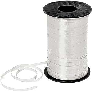 White Curling Ribbon 450yds