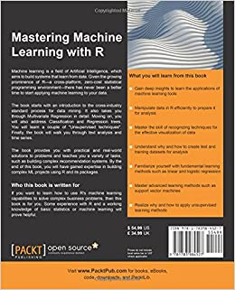 mastering machine learning with r by cory lesmeister pdf