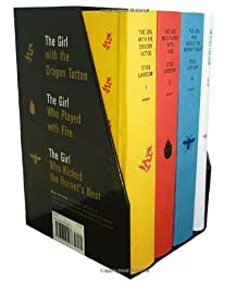 Stieg Larsson's Millennium Trilogy Deluxe Boxed Set: The Girl with the Dragon Tattoo, The Girl Who Played with Fire, The Girl Who Kicked the Hornet's Nest, Plus On Stieg Larsson