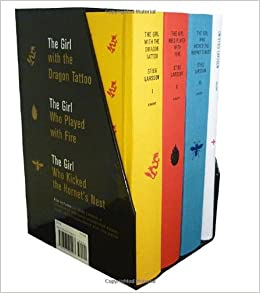 Stieg larsson 39 s millennium trilogy deluxe boxed set the for Girl with dragon tattoo books in order