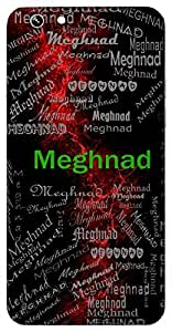 Meghnad (Thunder) Name & Sign Printed All over customize & Personalized!! Protective back cover for your Smart Phone : Samsung Galaxy S5 / G900I