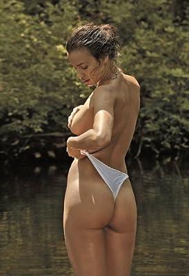 Irina Shayk Rear Topless Super Hot Butt Shot 004 13x19 POSTER