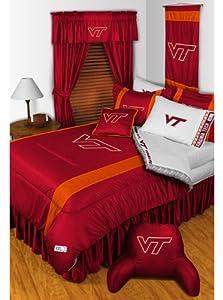 NCAA Virginia Tech Hokies - Comforter Set - Queen and Full Size Bedding