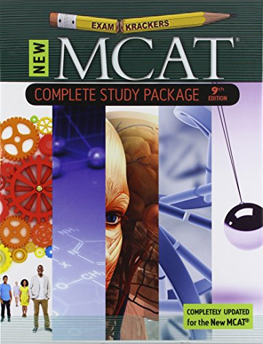 9th Edition Examkrackers MCAT Complete Study Package
