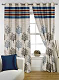 Story@Home 1 PC Jacquard Eyelet Window Curtain Rintop, 5 ft Green