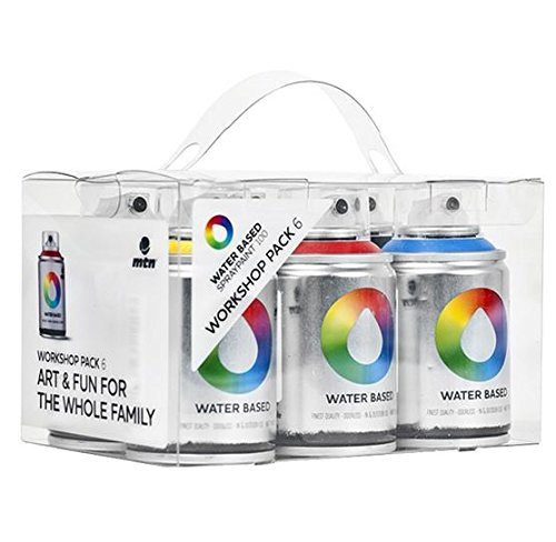 mtn-colors-water-based-spray-paint-workshop-pack-6-x-100ml-cans-by-mtn-colors