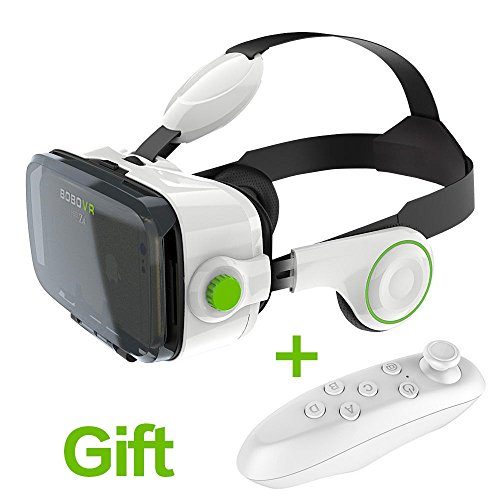Bobo 3D VR Z4 Virtual Reality 3D Smart phone Headset Glasses Goggles for iPhone Samsung Sony LG OnePlus HTC all 4.7-6.2 inch Android IOS phone
