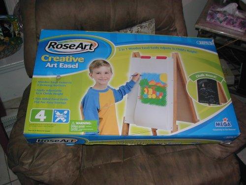 RoseArt 3 in 1 Creative Art Easel