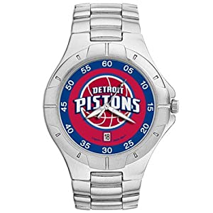NSNSW22841Q-Detroit Pistons Watch - Mens Pro Ii Nba Sport by NBA Officially Licensed