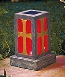 Solar Memorial Lantern