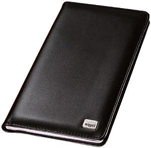 Sigel VZ202 Porte-cartes de visite Cuir nappa Torino -20 pochettes pour 120 cartes (max. 90 x 58 mm) Noir (Import Allemagne)