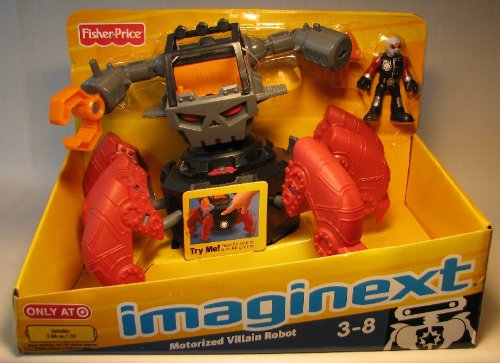Fisher-Price Imaginext Robot Police - Motorized Villain Robot - 1
