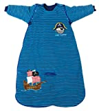 The Dream Bag Baby Sleeping Bag Long Sleeved Travel Pirate 18-36 Months 2.5 TOG - Blue