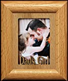 DAD'S GIRL Wallet Frame ~ Holds a 2x3 Portrait Wallet Photo
