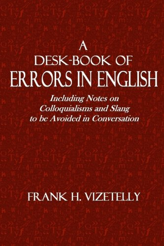 A Desk-Book of Errors in English