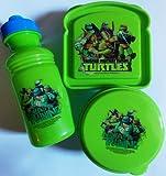 Teenage Mutant Ninja Turtles 3-Piece Lunch Box Set TMNT