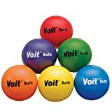 Voit Softi Tuff Ball Set, 6-1/4-Inch, Pack of 6