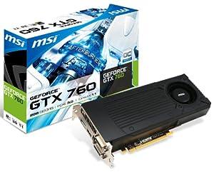 MSI NVIDIA GeForce GTX 760 OC 2GB GDDR5 2DVI/HDMI/DisplayPort PCI-Express Video Card