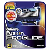 Gillette Fusion Proglide Manual Razor Blades - Pack of 4