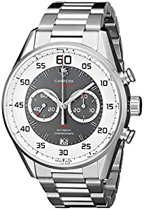 TAG Heuer Men's CAR2B11.BA0799 Analog Display Automatic Self Wind Silver Watch