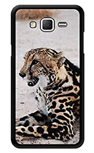"""Humor Gang Snow Leopard Printed Designer Mobile Back Cover For """"Samsung Galaxy On5"""" (3D, Glossy, Premium Quality Snap On Case)"""