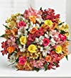Assorted Roses & Peruvian Lilies Double Bouquet Only by 1-800 Flowers