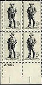 #1242 - 1964 5c Sam Houston U. S. Postage Stamp Plate Block (4)