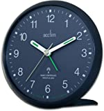 Acctim 71459 Yale Alarm Clock, Blue, Radio Controlled