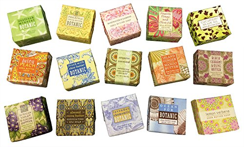 Greenwich Bay Trading Company Soap Sampler 15 pack of 1.9oz bars (Wedding Favor Sunflower Seeds compare prices)