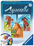 Ravensburger 29306 - Pferde - Aquarelle Midi, 18 x 24 cm