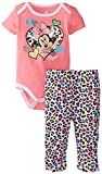 Disney Baby-Girls  Minnie Mouse Bodysuit and Pant Set