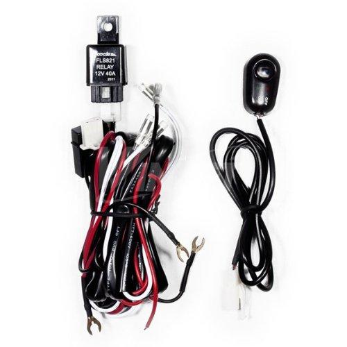 Universal Fog Light Wiring Kit For H3 Type Bulbs