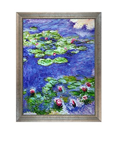 Claude Monet Water Lilies Hand-Painted Oil Reproduction