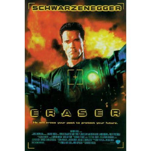 Amazon.com: Eraser - Movie Poster (Arnold Schwarzenegger