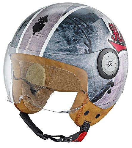 Held Helmet McCorry Gloss Road 7261 Grey L