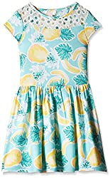 Pumpkin Patch Girls' Dress (S5GL80022_Clean White_7)