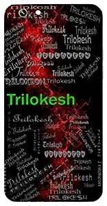 Trilokesh (Lord Vishnu) Name & Sign Printed All over customize & Personalized!! Protective back cover for your Smart Phone : Samsung Galaxy Note-3