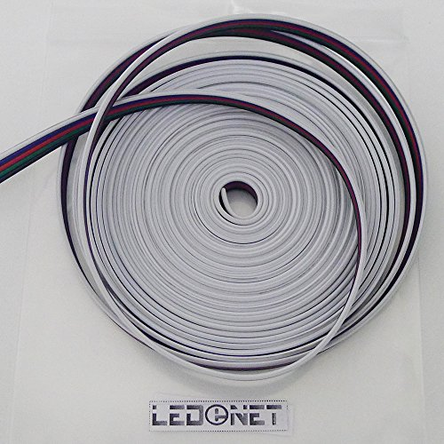 Ledenet® 5M Rgbw Extension Cable Line 5 Color For Rgbw Led Strip 5050 Ribbon Rgb Warm White Cord 5Pin Wire