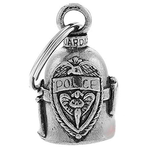 Clochette Police blason porte-bonheur moto Guardian Bell